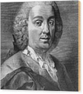 Carlo Goldoni (1707-1793) Wood Print