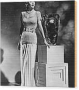 Carole Landis, Ca. 1941 Wood Print