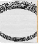 Cartouche, 19th Century Wood Print