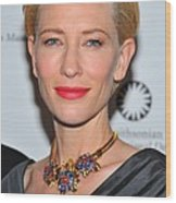 Cate Blanchett Wearing A Van Cleef & Wood Print by Everett