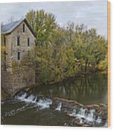 Cedar Point Mill Wood Print