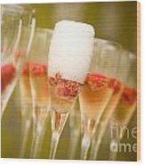 Champagne Wood Print by Kati Molin