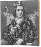 Charles V (1337-1380) Wood Print