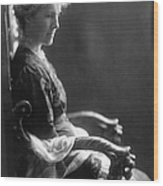 Charlotte Perkins Gilman Wood Print by Granger