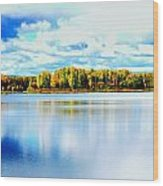 Chena Lakes Wood Print