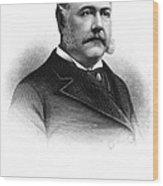 Chester Alan Arthur Wood Print