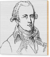 Chevalier De Lamarck Wood Print by Granger