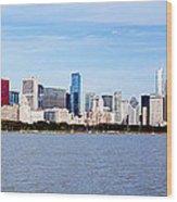 Chicago Panorama Wood Print