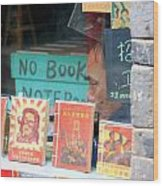 Chinese Bookstore Wood Print
