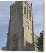 Christchurch Priory Bell Tower Wood Print