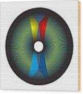 Circle Study No. 2 Wood Print