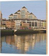City Of Dublin Wood Print