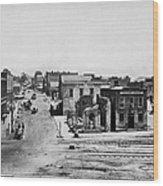 Civil War: Atlanta Wood Print