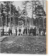 Civil War: Brandy Station Wood Print
