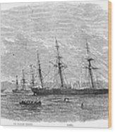 Civil War: C.s.s. Florida Wood Print