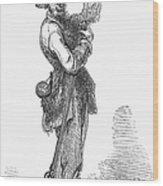 Civil War Guerilla Wood Print