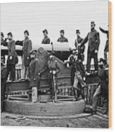 Civil War: Officers, 1865 Wood Print