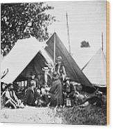 Civil War: Signal Corps Wood Print