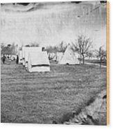Civil War: Union Camp, 1863 Wood Print