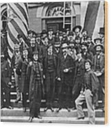 Civil War: War Department Wood Print