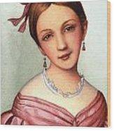 Clara Schumann (1819-1896) Wood Print