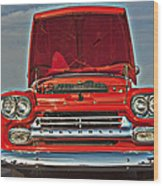 Classic Chevy Wood Print