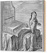 Clavicytherium, 1723 Wood Print