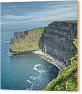 Cliff Of Moher 31 Wood Print