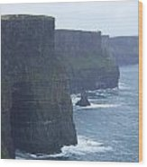 Clifts Of Moher Wood Print