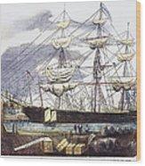 Clipper Ship, 1851 Wood Print