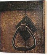 Close The Door Wood Print