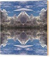 Cloud's Illusions Wood Print