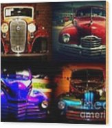 Collector Cars Wood Print