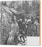 Colorado: Pikes Peak, 1867 Wood Print