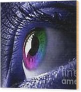 Colorful Eye Wood Print