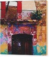 Colors Of Oaxaca Wood Print