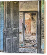 Come On In Wood Print by JC Findley