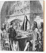 Congress Of Utrecht, 1713 Wood Print