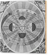 Copernican World System, 17th Century Wood Print by Science Source