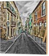 Cores De Lisboa - Lisbon Colors Wood Print
