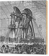 Corliss Steam Engine, 1876 Wood Print
