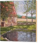 Country Life Wood Print
