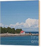 Cove Island Lighthouse Wood Print