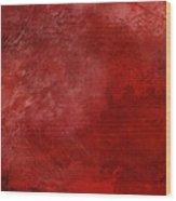 Crimson China Wood Print