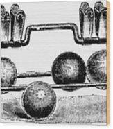 Croquet, C1900 Wood Print
