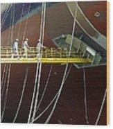 Crude Oil Tanker Wood Print