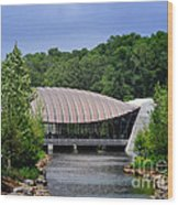 Crystal Bridges Museum Wood Print