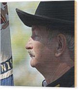 C S A  Co. H 4th Virginia Cavalry Black Horse Troop 150th Anniversary Of The Civil War Warrenton Va. Wood Print