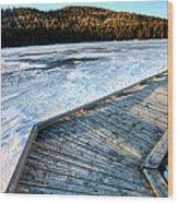 Cypress Hills Alberta Wood Print