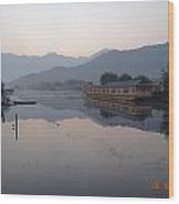 Dal Lake Srinagar Kashmir Wood Print